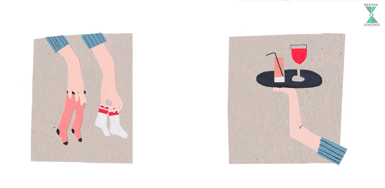 #262 je sokken komen gesorteerd uit de wasmachine – OF – je krijgt overal waar je komt een welkomstdrankje aangeboden