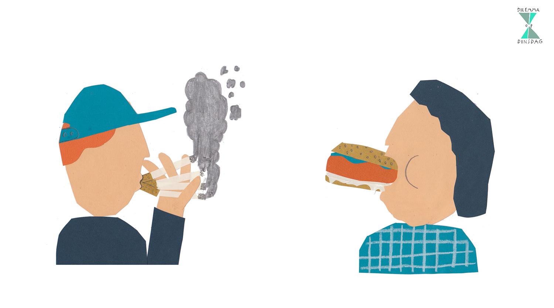 #299 je moet in 2019 elke dag een pakje sigaretten roken -OF- je moet in 2019 minstens 25 kilo aankomen