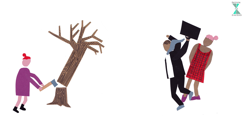 #314 je moet elke week een boom omhakken -OF- je moet elke dag een onbekend persoon pootje haken
