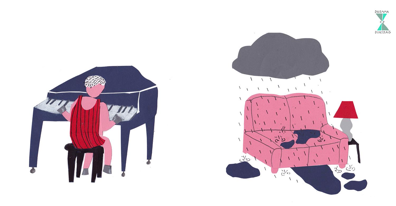 #220  je hebt hoeven in plaats van handen en voeten – of – alle neerslag valt ook binnen in je huis