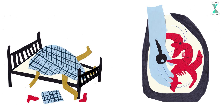 #233 je gaat jodelen als je klaarkomt – OF – je hebt 4 rauwe gamba's in je broekzak