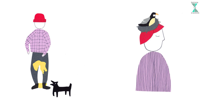 #236 altijd als je een hond hoort blaffen plas je in je broek – OF – elk jaar in mei gebruikt een koolmees  jouw hoofd als broedplaats