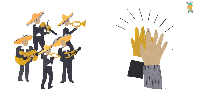 #253 Je hebt altijd vijf enthousiaste mariachi's achter je aan lopen – OF – Je moet iedereen die je passeert een high five geven