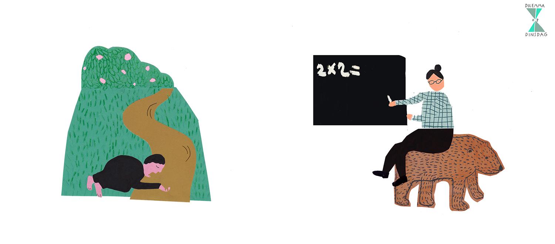 #341 er stroomt een chocoladerivier door je tuin -OF- alle dieren doen alles wat je zegt