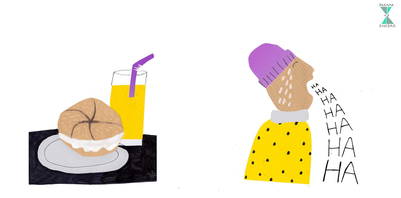#234  je moet elke dag een broodje vaseline eten – OF – als iemand je slecht nieuws vertelt krijg je de slappe lach