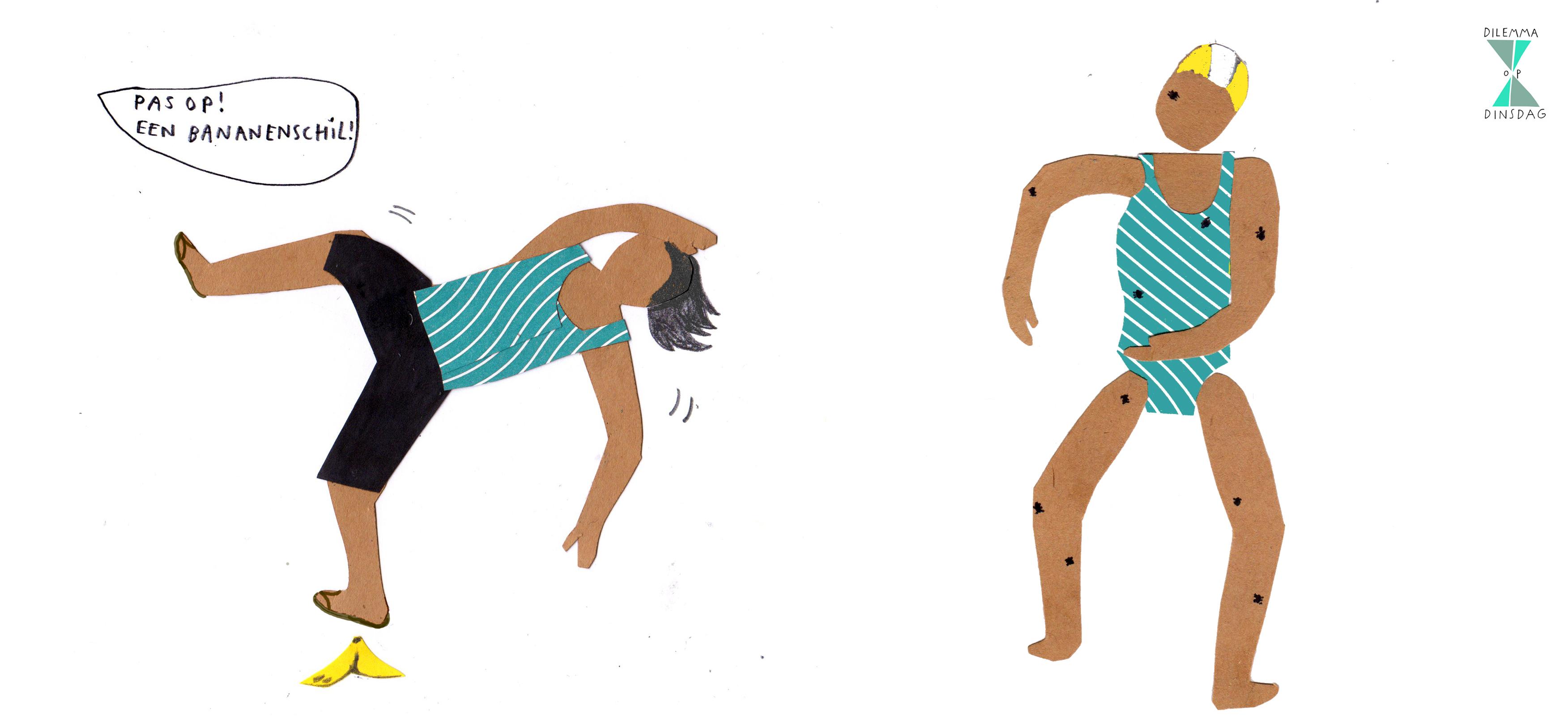 #392 je hoort in elk gesprek de ander met 10 seconden vertraging -OF- er lopen altijd 10 mieren over je lichaam