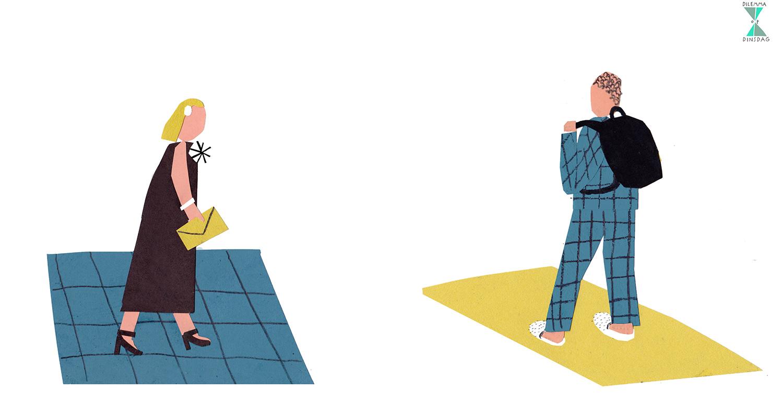 #401 je mag alleen nog maar galakleding dragen -OF- je gaat altijd rechtstreeks uit je bed de deur uit